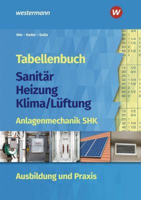 Tabellenbuch Sanitär-Heizung-Klima/Lüftung