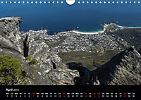 Table Mountain One of the Seven Wonders of Nature (Wall Calendar 2019 DIN A4 Landscape) - Produktdetailbild 4