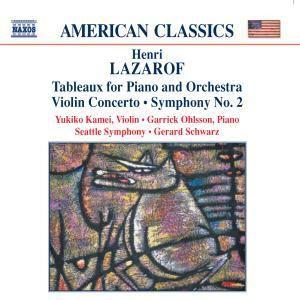 Tableaux/Violinkonzert/Sinf.2, Ohlsson, Kamei, Schwarz, Seattle