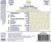 Tabula Rasa/Sinfonie 3 - Produktdetailbild 1