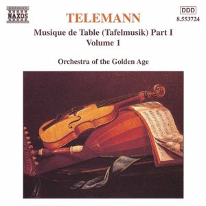 Tafelmusik Teil 1 Vol.1, Orchestra Of The Golden Age