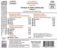 Tafelmusik Vol. 2 - Produktdetailbild 1