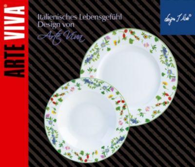 Tafelservice Millefiori, 12-teilig