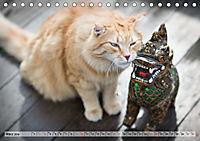 Taffe Begegnungen-Drei Waldkatzen auf Abenteuerreisen (Tischkalender 2019 DIN A5 quer) - Produktdetailbild 3