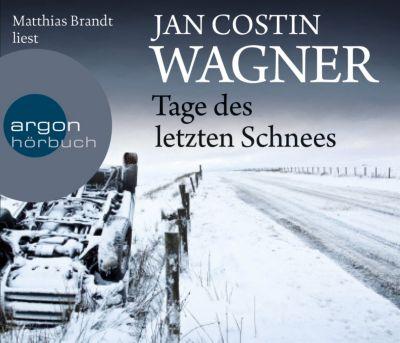 Tage des letzten Schnees, 5 Audio-CDs, Jan Costin Wagner