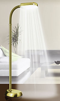 "Tageslicht-Standleuchte ""Daylight"" (Farbe: messing) - Produktdetailbild 2"
