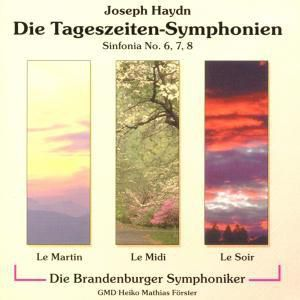 Tageszeiten-Sinfonien, Förster, Brandenburger Sinfoniker