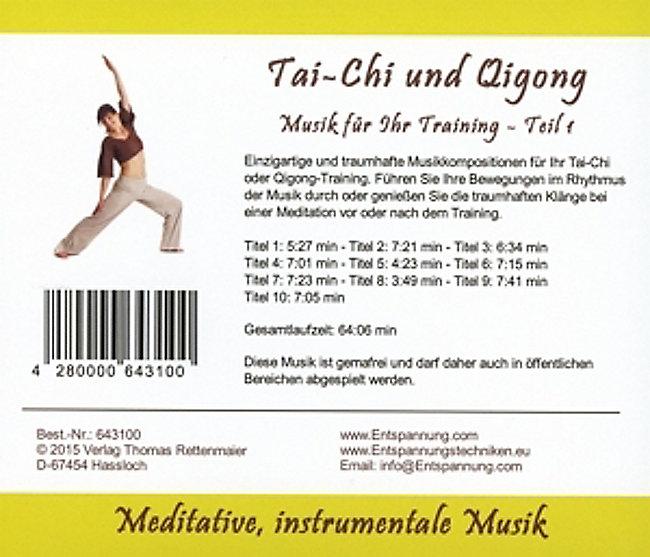 Tai-Chi Und Qigong Teil 1 CD von Thomas Rettenmaier