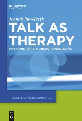 Talk as Therapy, Joanna Pawelczyk