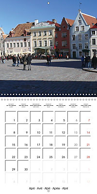 Tallinn. Capital of Estonia (Wall Calendar 2019 300 × 300 mm Square) - Produktdetailbild 4