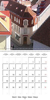 Tallinn. Capital of Estonia (Wall Calendar 2019 300 × 300 mm Square) - Produktdetailbild 3