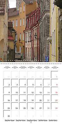 Tallinn. Capital of Estonia (Wall Calendar 2019 300 × 300 mm Square) - Produktdetailbild 9