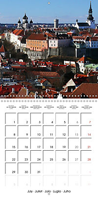 Tallinn. Capital of Estonia (Wall Calendar 2019 300 × 300 mm Square) - Produktdetailbild 7