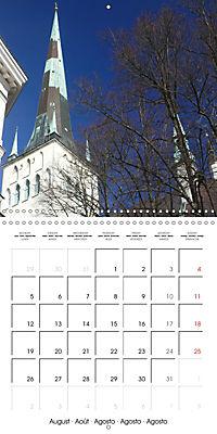 Tallinn. Capital of Estonia (Wall Calendar 2019 300 × 300 mm Square) - Produktdetailbild 8