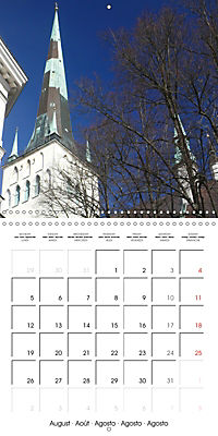 Tallinn. Capital of Estonia (Wall Calendar 2019 300 × 300 mm Square) - Produktdetailbild 8