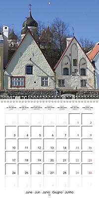 Tallinn. Capital of Estonia (Wall Calendar 2019 300 × 300 mm Square) - Produktdetailbild 6