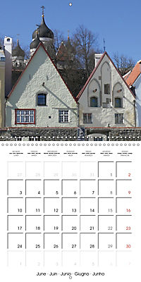 Tallinn. Capital of Estonia (Wall Calendar 2019 300 × 300 mm Square) - Produktdetailbild 6