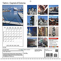 Tallinn. Capital of Estonia (Wall Calendar 2019 300 × 300 mm Square) - Produktdetailbild 13