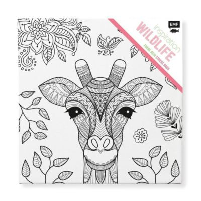 Tangle Rahmen Wildlife - Keilrahmen, Edition Michael Fischer
