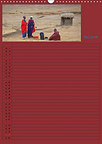 TANSANIA - Kunterbuntes Afrika (Wandkalender 2019 DIN A3 hoch) - Produktdetailbild 5