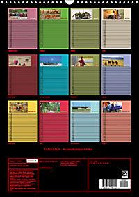 TANSANIA - Kunterbuntes Afrika (Wandkalender 2019 DIN A3 hoch) - Produktdetailbild 13