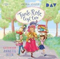 Tante Rotz legt los, 2 Audio-CDs, Andrea Schütze