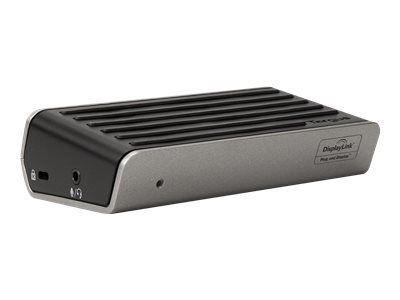TARGUS 2K Universal Docking Station USB 3.0 Single 2K or Dual HD Video Black
