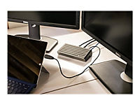 TARGUS 2K Universal Docking Station USB 3.0 Single 2K or Dual HD Video Black - Produktdetailbild 9