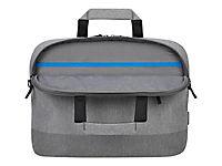 TARGUS CityLite 30,5-40cm 12-15,6Zoll Slim Briefcase Laptop Case - Grey - Produktdetailbild 2