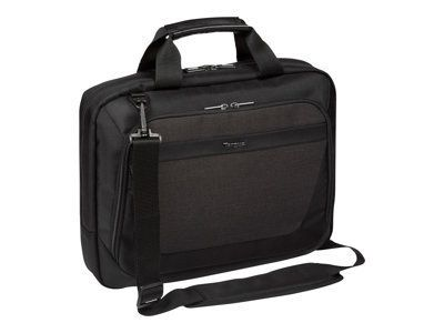 TARGUS CitySmart Essential Multi-Fit 31-35,6cm 12,5-14inch Laptop Topload Black & Grey