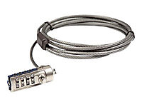 TARGUS DEFCON CL security cable lock grey - Produktdetailbild 1