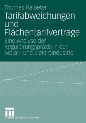 Tarifabweichungen und Flächentarifverträge, Thomas Haipeter