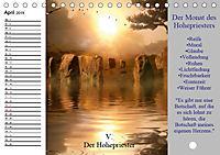Tarot. Spirituell durch das Jahr (Tischkalender 2019 DIN A5 quer) - Produktdetailbild 4
