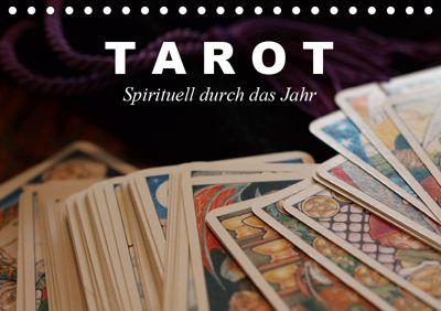 Tarot. Spirituell durch das Jahr (Tischkalender 2019 DIN A5 quer), Elisabeth Stanzer