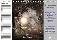 Tarot. Spirituell durch das Jahr (Tischkalender 2019 DIN A5 quer) - Produktdetailbild 8