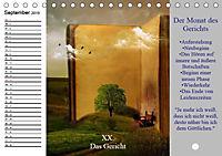 Tarot. Spirituell durch das Jahr (Tischkalender 2019 DIN A5 quer) - Produktdetailbild 9