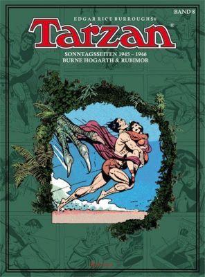Tarzan - Sonntagsseiten 1945-1946 -  pdf epub