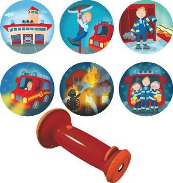 Taschenlampen-Projektor Feuerwehr-Einsatz