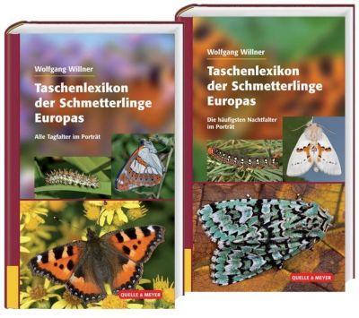 Taschenlexikon der Schmetterlinge Europas, 2 Bde. - Wolfgang Willner |