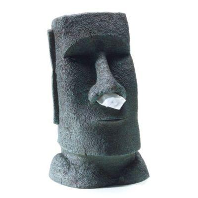 Taschentuchhalter Moai