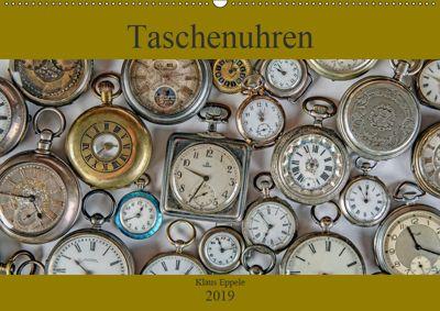 Taschenuhren (Wandkalender 2019 DIN A2 quer), Klaus Eppele
