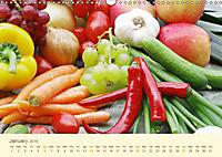 Tasty food from the kitchen UK - Version (Wall Calendar 2019 DIN A3 Landscape) - Produktdetailbild 1