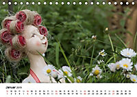 Tausendschön - handgeferigte Tonwesen (Tischkalender 2019 DIN A5 quer) - Produktdetailbild 1