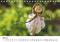 Tausendschön - handgeferigte Tonwesen (Tischkalender 2019 DIN A5 quer) - Produktdetailbild 6