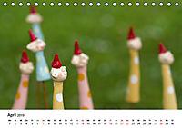 Tausendschön - handgeferigte Tonwesen (Tischkalender 2019 DIN A5 quer) - Produktdetailbild 4