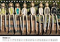 Tausendschön - handgeferigte Tonwesen (Tischkalender 2019 DIN A5 quer) - Produktdetailbild 10