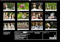 Tausendschön - handgeferigte Tonwesen (Wandkalender 2019 DIN A2 quer) - Produktdetailbild 13