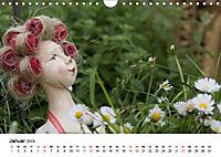 Tausendschön - handgeferigte Tonwesen (Wandkalender 2019 DIN A4 quer) - Produktdetailbild 1