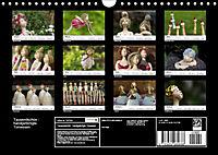 Tausendschön - handgeferigte Tonwesen (Wandkalender 2019 DIN A4 quer) - Produktdetailbild 13