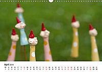 Tausendschön - handgeferigte Tonwesen (Wandkalender 2019 DIN A3 quer) - Produktdetailbild 4
